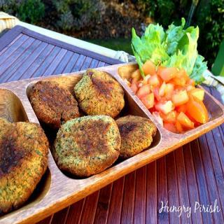 Quick & Easy Baked Falafel (Vegan)