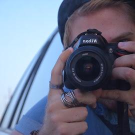 by Michael Gray - People Portraits of Men ( blonde, reflection, male photographer, nikon, boy,  )