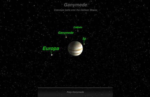 Ganymede - screenshot