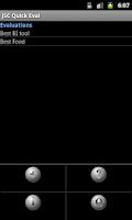 Screenshot of JSC Quick Eval