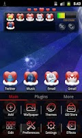Screenshot of Go Launcher Love Theme