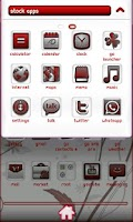 Screenshot of Red and White Go Launcher