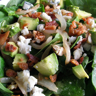 Loaded Spinach Salad