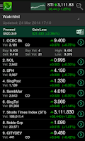 Screenshot of ShareInvestor Mobile