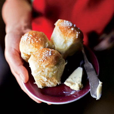 Colicchio & Sons' Parker House Rolls