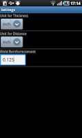 Screenshot of Gamma Ray Calculator