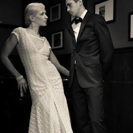 by Mathieu Rancourt - Wedding Bride & Groom