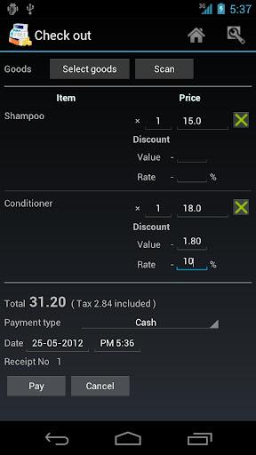 【免費商業App】TapPOS Inventry Sales manager-APP點子