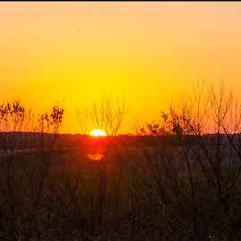 illinois splendor by Jody Jedlicka - Landscapes Sunsets & Sunrises ( sunset, midwest, fall, landscape photography, country )