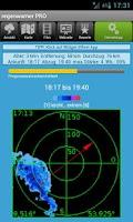 Screenshot of regenwarner PRO