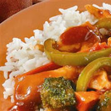Tomato Chicken Stir-Fry