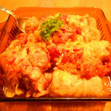 Halupki (stuffed cabbage rolls)