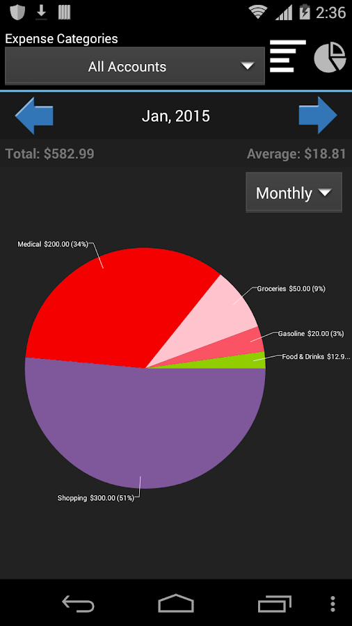 My Wallet - Expense Manager Screenshot 5