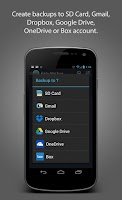 Screenshot of Easy Backup & Restore