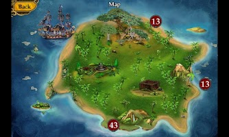 Screenshot of Pirate Mysteries Lite