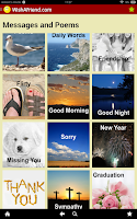 Screenshot of Messages & Poems - Wishafriend