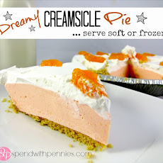 Dreamy Creamsicle Pie