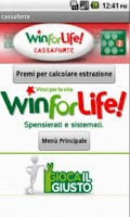 Screenshot of Win For Life Previsioni