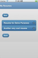 Screenshot of Best Resume Creator