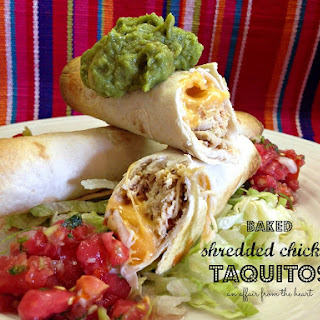 Baked Chicken Taquitos