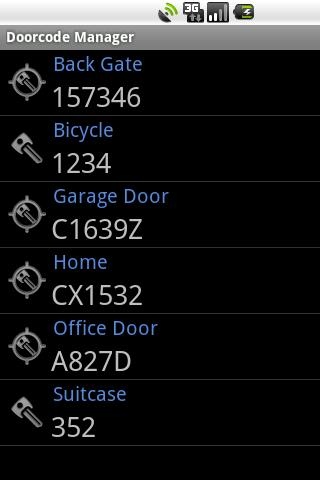 Doorcode Manager