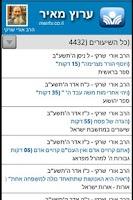 Screenshot of Torat Eretz Israel (hebrew)