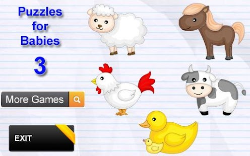 Animal Puzzles for Kids - screenshot