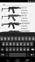 Screenshot of Kalashnikov Variants