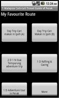 Screenshot of Malaysia Travel Guide of Perak