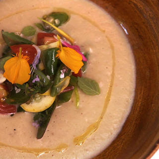 Daniel Patterson's Roasted Eggplant Soup