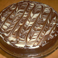 Marbled Chocolate Cheesecake
