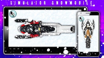 Screenshot of Simulator Snowmobile