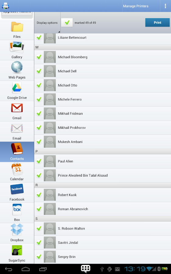 PrintHand Mobile Print Premium Screenshot 14