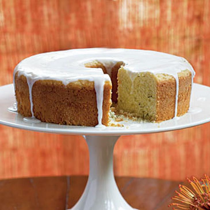 Lemon-Rosemary Olive Oil Cake