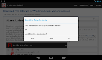 Screenshot of Auto Refresh Web Page Utility