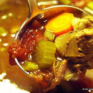 Old Fashion Vegetable Beef Soup