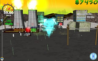Screenshot of Cyclone Frenzy!