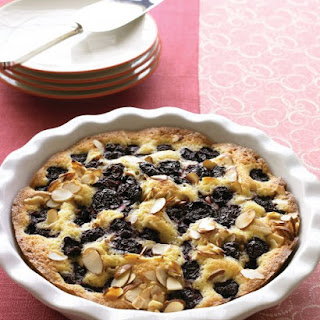 Warm Almond-Cherry Cake