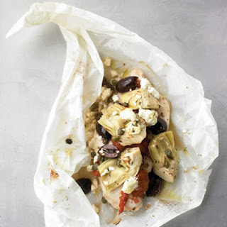 Mediterranean Chicken Packets