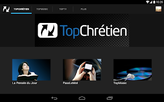 Screenshot of TopChrétien