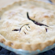 Mom's Blueberry Pie