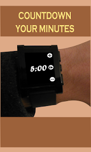 Timer for Pebble - screenshot
