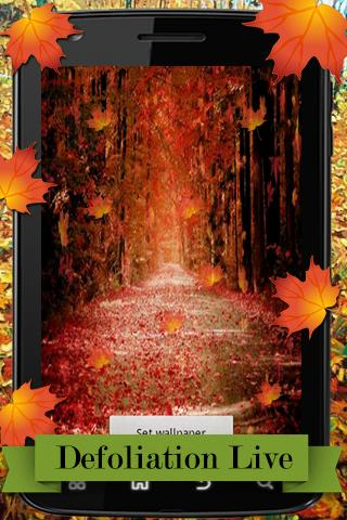 Defoliation Live Wallpaper