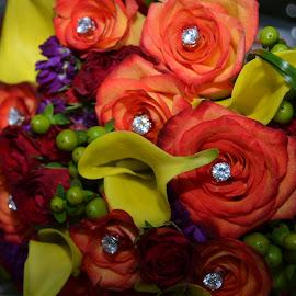 Bridal Bouquet by Lorraine D.  Heaney - Wedding Details