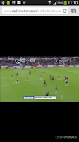 Screenshot of Football on TV