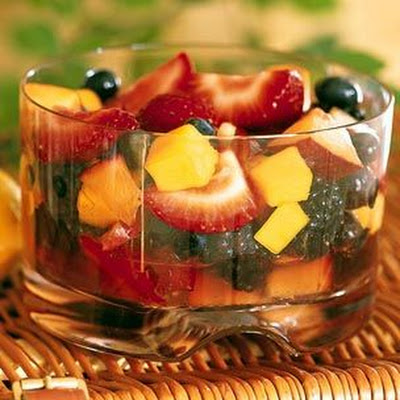 Summer Fruit Salad with Sambuca
