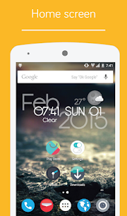 PopUI CM12 / CM13 Theme Screenshot