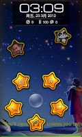 Screenshot of Touch star Magic Locker theme