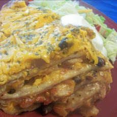 Crock Pot Enchilada Stack