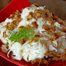 Crunchy Yummy Salad (Fennel and Apple Salad)
